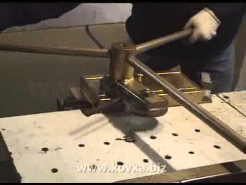Кузнечное оборудование для холодной ковки металла смотреть в хорошем качестве