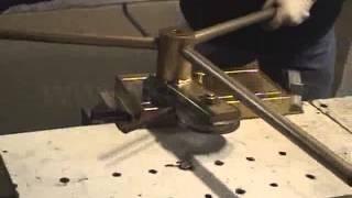 Кузнечное оборудование для холодной ковки металла(Ручное кузнечное оборудование для холодной ковки металла - комплект из 6 станков. Подробная информация..., 2013-11-21T12:47:28.000Z)