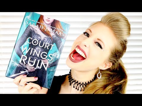 A COURT OF WINGS AND RUIN BY SARAH J MAAS | booktalk with XTINEMAY