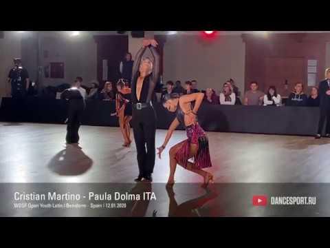 Cristian Martino - Paula Dolma ITA, Pasodoble / DanceSport Cup, Benidorm