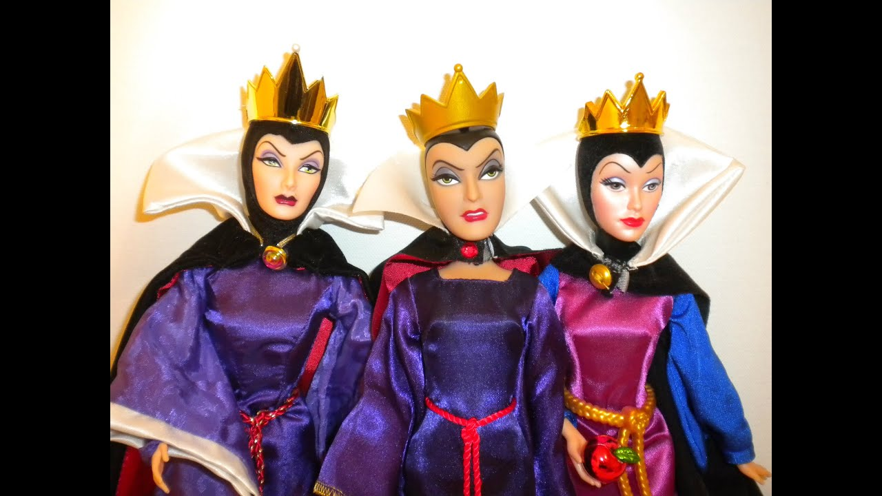 Evil Queen doll comparisons video - YouTube