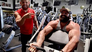 CHALLENGING THE STREET WORKOUT KING IN THE GYM!