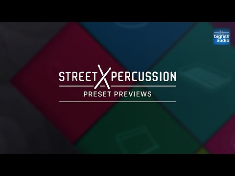Preset Previews - Street Percussion