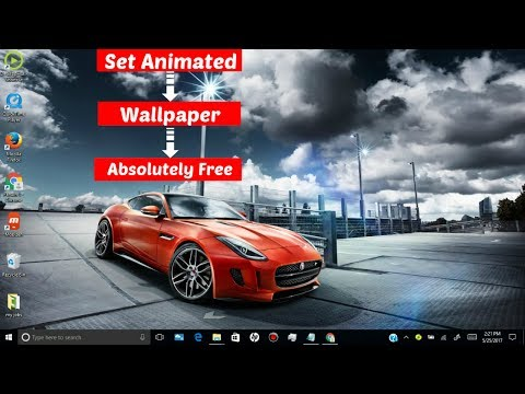 how to set animated Desktop wallpaper in windows 7/8/8.1/10 Absolutely free