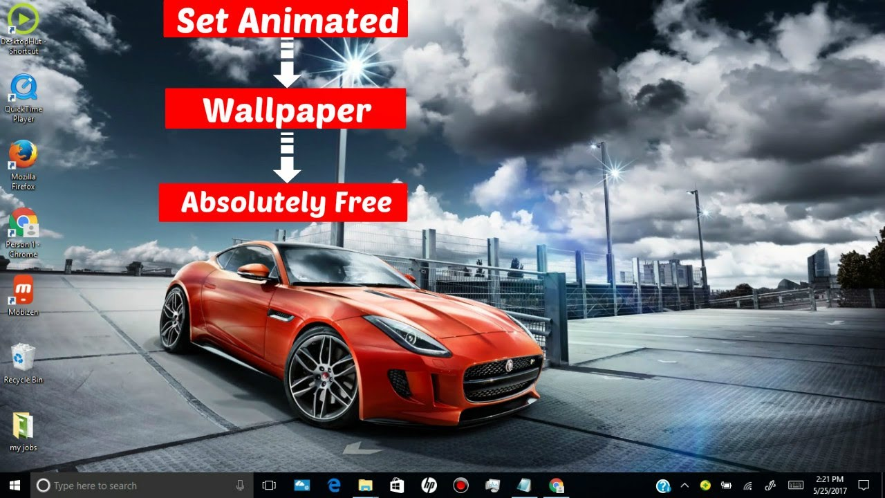 """Last theme shared by us was our exclusive """" How To Set Animated Desktop Wallpaper In Windows 7 8 8 1 10 Absolutely Free Youtube"""