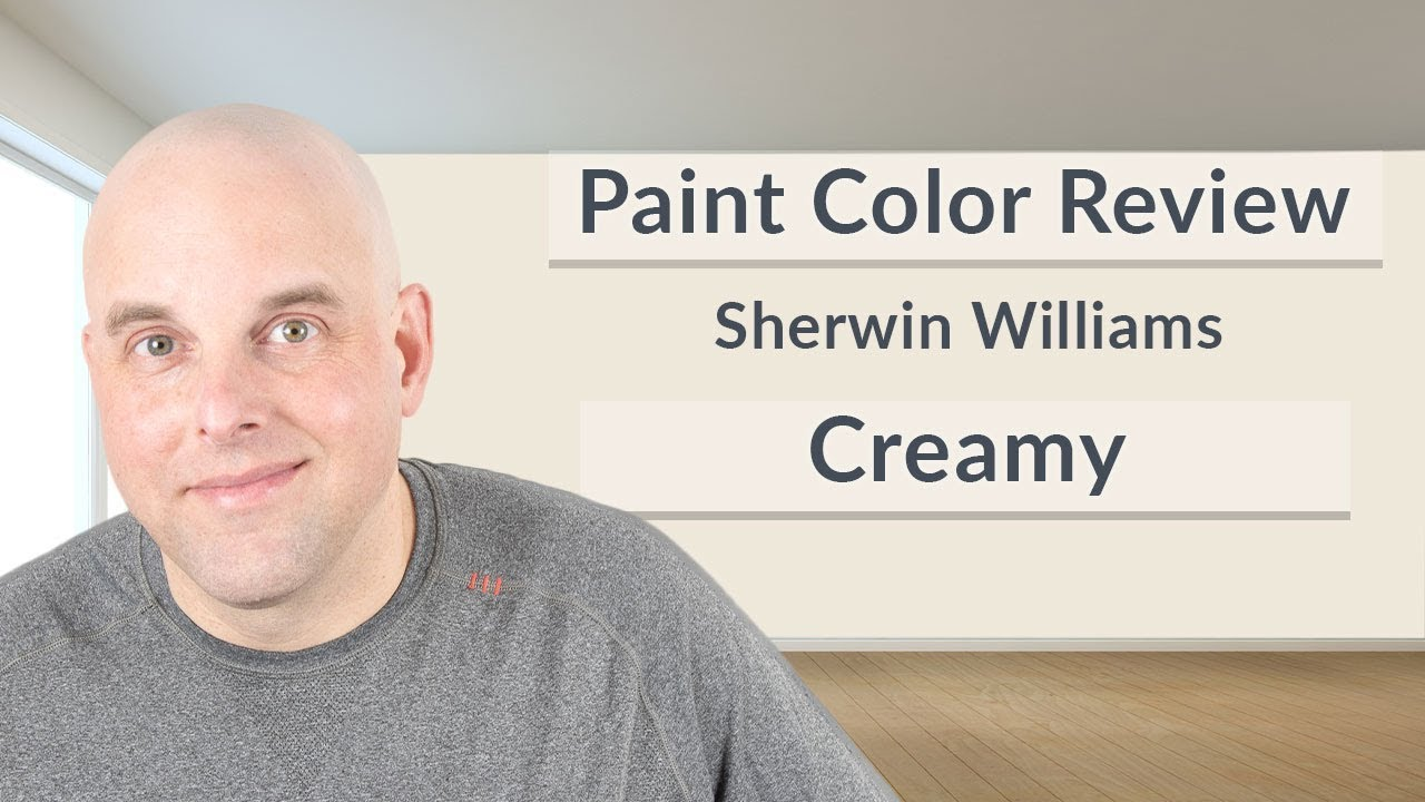 Sherwin Williams Creamy Color Review Youtube