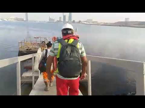 3RD DAY AT WORK I DUBAI CREEK MARINA