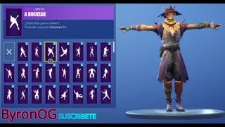 NEW SKIN Scarebirds BAILANDING ALL FORTNITE BAILES **MIMBRE MAN**