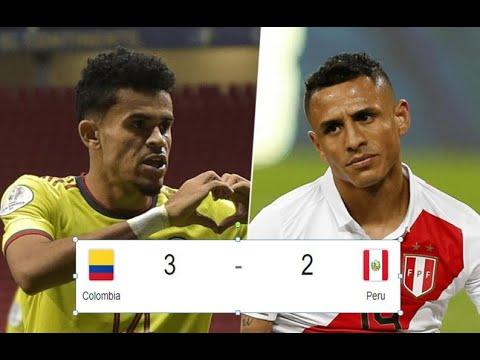 Download Colombia Vs Peru 3-2 Third place Highlights & Goals 2021