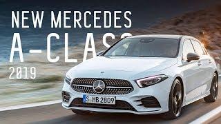 Новый А-Класс/New Mercedes A-Class 2019/ Дневники Женевского Автосалона
