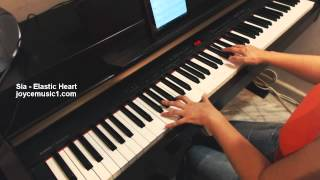 Sia - Elastic Heart - Piano Cover and Sheets