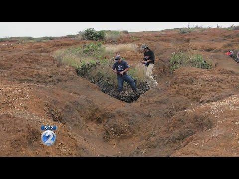 Exploring Kahoolawe: Replanting foliage, erosion control