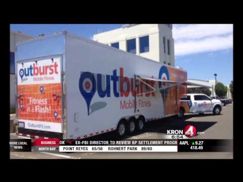 Mobile Fitness Center Brings Workouts To You
