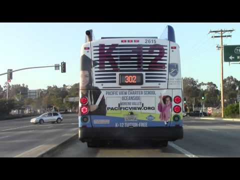 Pacific View Charter School Oceanside Bus Ad Video