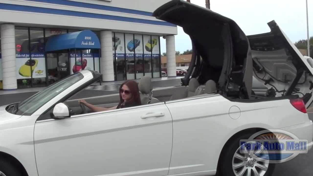2010 Chrysler Sebring Convertible For Tampa Bay Florida Video By Jeanne You