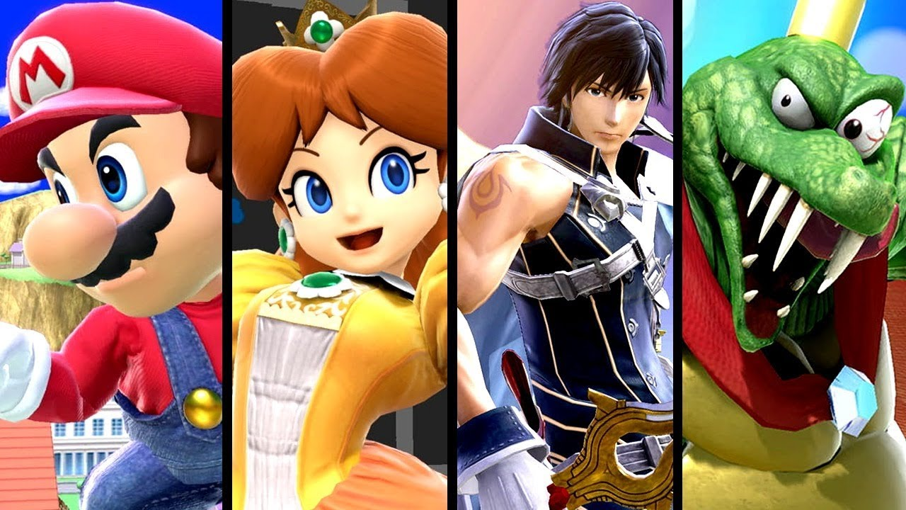 Super Smash Bros Ultimate ALL CHARACTER Gameplay TRAILERS (Switch)