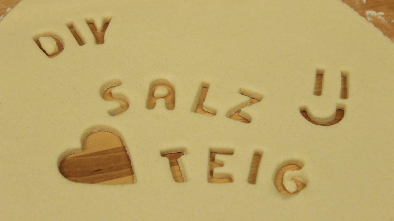 Top Salzteig selber machen | Salzteig Rezept | Knete selber machen zum RG13