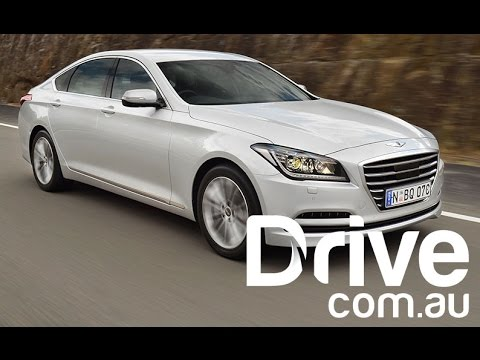 Hyundai Genesis First Australian Drive Review | Drive.com.au