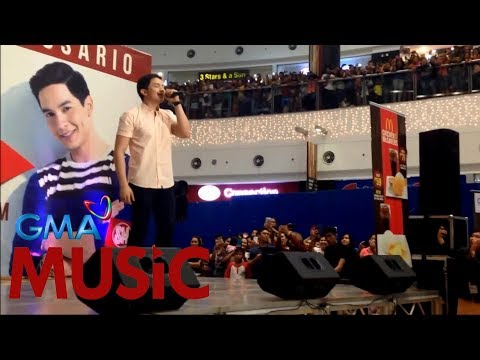 Alden Richards I Wish I May I LIVE @ SM Rosario
