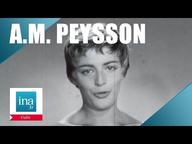 Speakerine 1957 Les essais d'Anne-Marie Peysson | Archive INA