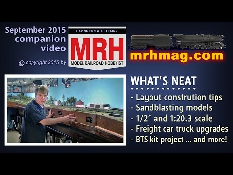Layout construction tips | Model railroad tips | Model Railroad Hobbyist | MRH