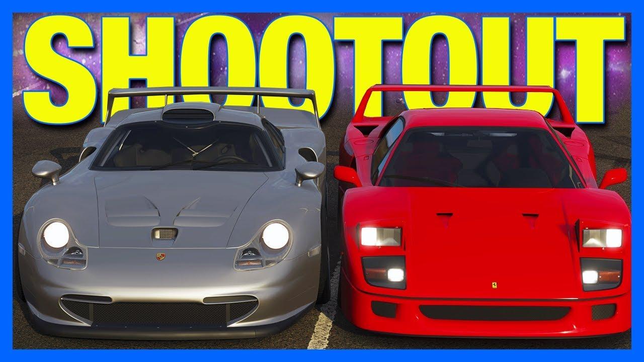 Forza Horizon 4 : The Race Car Shootout!!
