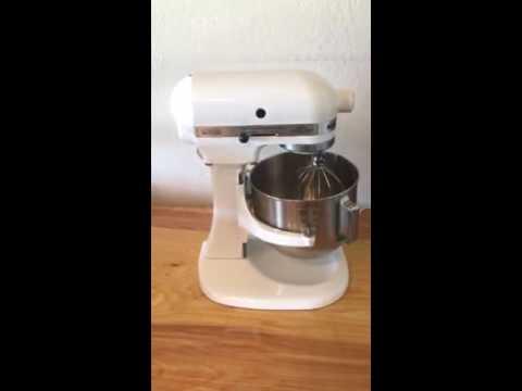 Kitchen Aid K5ss Wooden Shelves Kitchenaid Mixer On Ebay Youtube