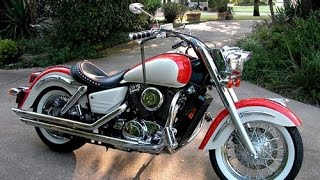 Honda Shadow VT 1100 exhaust sound compilation(Acceleration, dynamics, launch and exhaust sound. The following are the authors of each video, go to their channel to see more videos about Honda, as well as ..., 2015-10-19T10:23:01.000Z)