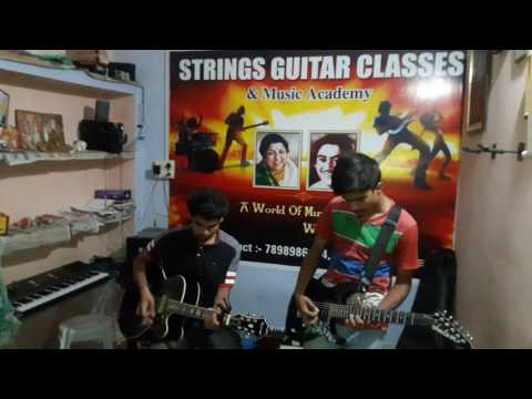 STRINGS GUITAR CLASSES & MUSIC ACADEMY  (REWA)#DON : TITLE Song
