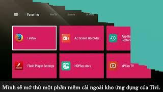 Phần mềm tự động xoay màn hình cho Tivi Sony chạy hệ điều hành android