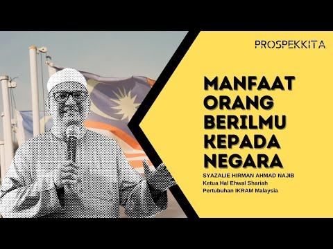02 Masyarakat Progresif : Bagaimana orang berilmu memberi manfaat kepada negara
