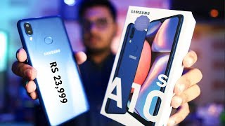 Samsung Galaxy A10s Unboxing And Quick Review | PUBG Performance?