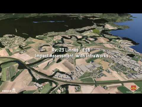 Sweco BIM - Impact Assessment with InfraWorks