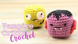 In today's tutorial I show you to crochet a cute vampire! Can vampires be called cute? I'm not sure! A great sugar free alternative for kids to enjoy this Halloween, ...