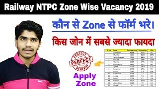 Railway NTPC Top 10 Zone | Zone Wise Vacancies | Form Apply Zone | RRB NTPC Zone