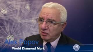 Antwerp Diamond Trade Fair interview of Alex Popov