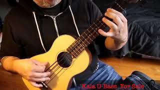 Kala U-Bass Demo - Solid Spruce Top / Mahogany KA-UBASS-2-FS (Passive)