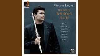 8 pièces pour flûte solo: No. 5, Sehr lebhaft