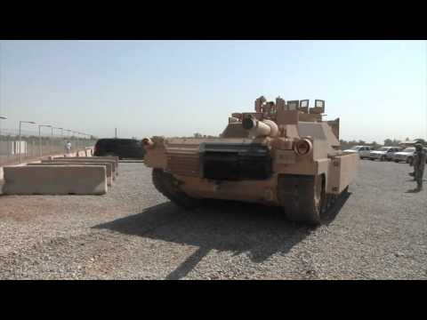 1st Armored Division Displays Tanks