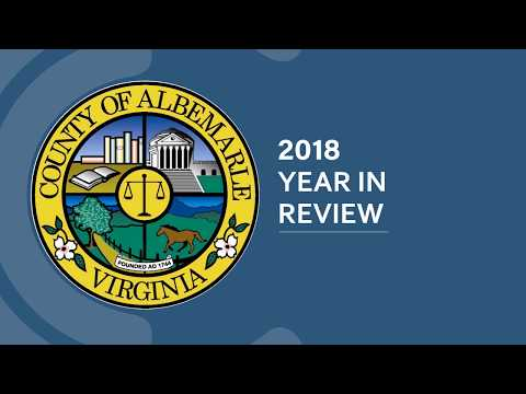 Albemarle County's 2018 Year in Review