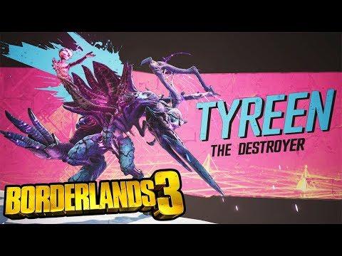 BORDERLANDS 3 Final Boss Fight - Borderlands 3 Tyreen The Destroyer Boss Fight (#Borderlands3)