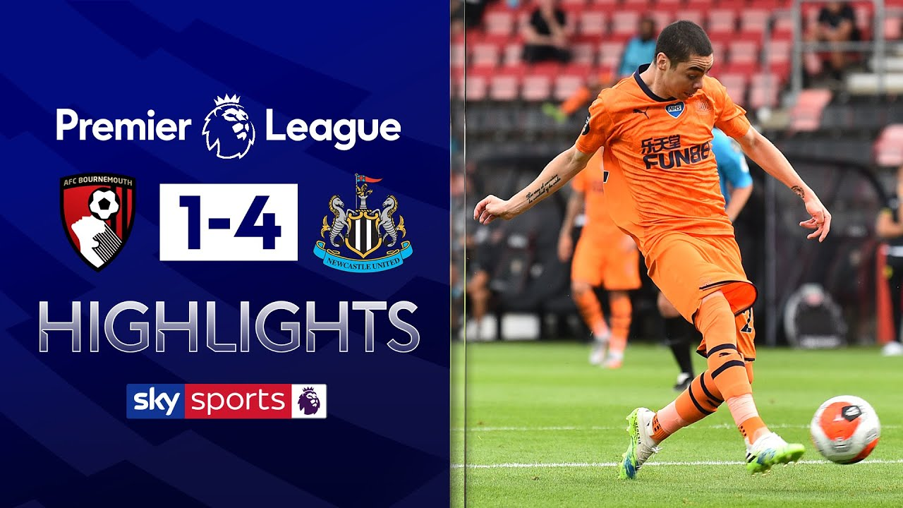 Magpies continue impressive restart | Bournemouth 1-4 Newcastle | Premier League Highlights