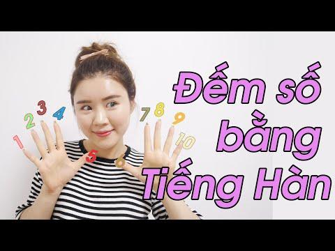 Đếm số bằng Tiếng Hàn !