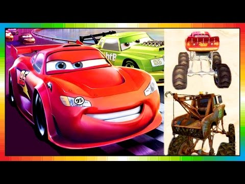 CARS 3 - Race O Rama - Disney - Pixar - Lightning McQueen - Mater Toons - The Cars Part 1 (Game)