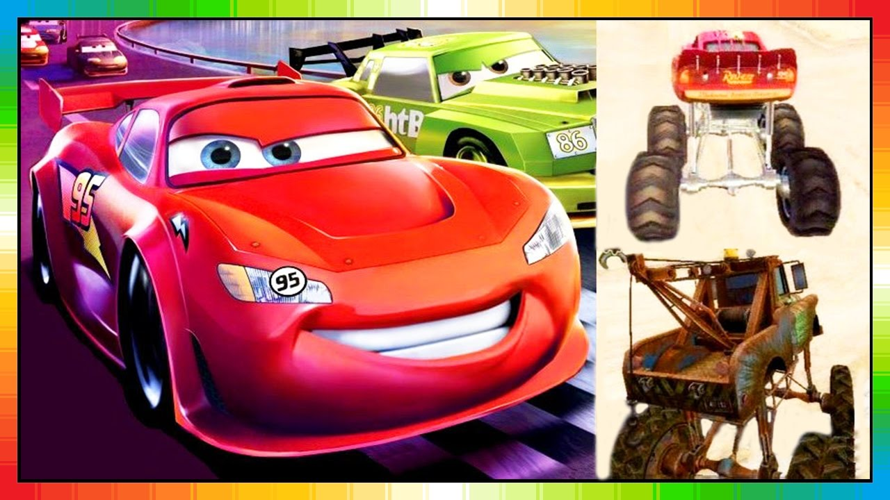 Cars 3 Race O Rama Disney Pixar Lightning Mcqueen Mater Toons The Cars Part 1 Game