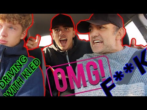 ALBANIAN DAD GETS MAD AT SON DRIVING!!!!!