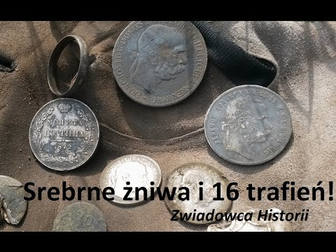 Srebrne żniwa i 16 trafień! - Zwiadowca Historii wykopki treasurer hunting