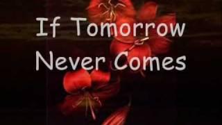 Ronan Keating - If Tomorrow Never Comes (Lyrics)