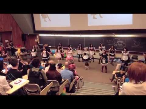otafest 2014 maid cafe performance