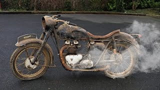 The Oldest Motorcycles Starting Up !